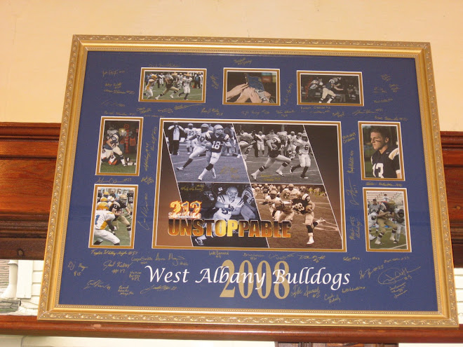 West Albany Football collage.