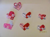 Little Valentines Bows $2.00 each