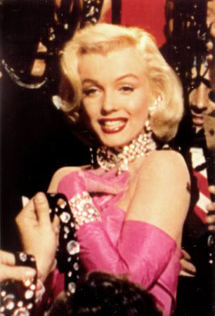 Pink Dress on Miles  Notes  What Ever Happened To Marilyn Monroe