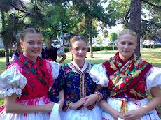 Magyarok a zsilvásári kilencedik folklórfesztiválon