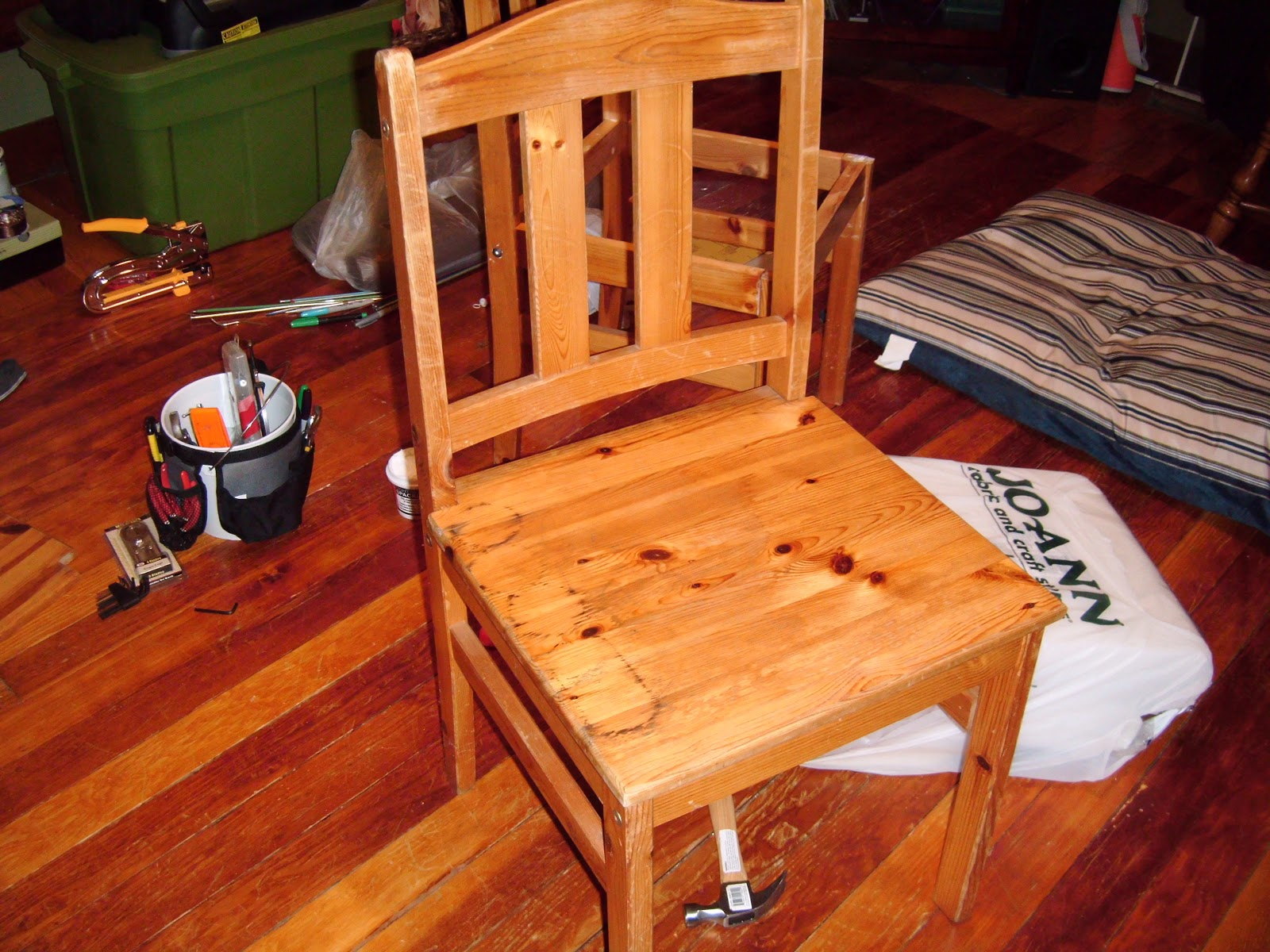 Dining Chair Makeover With Tutorial