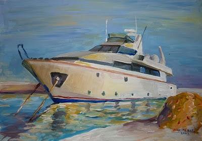 Το ...σκάφος του Αι-Βασίλη!!! Καλή χρονιά σε όλους!!!