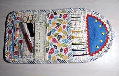 Crochet Clutch Tutorial : Trapos e PapEis : Estojo de agulhas