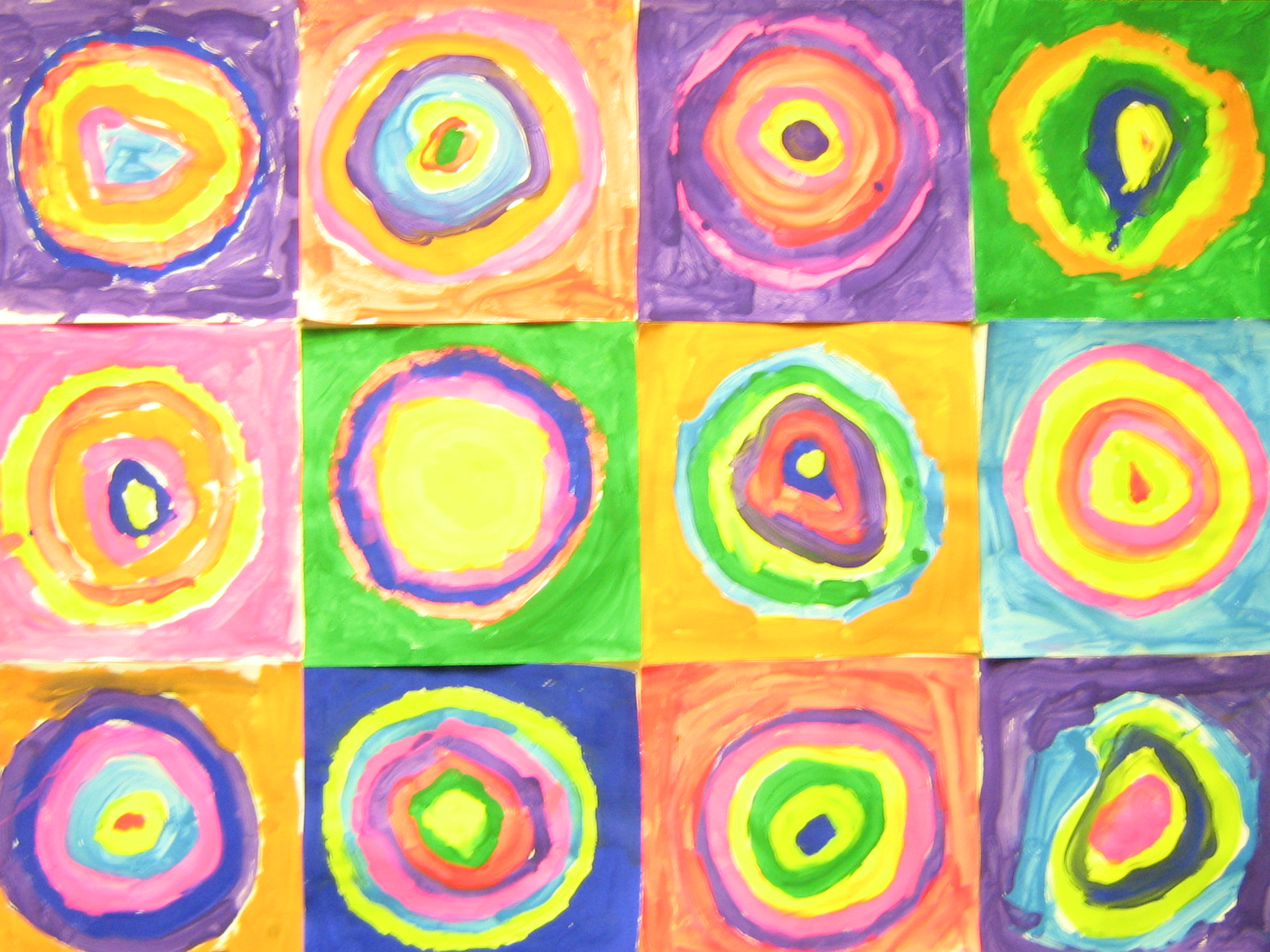*Fun Art 4 Kids: Kandinsky's Circles!