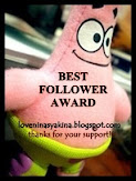 My 1st Award (^_^)