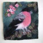 Needle felted bird tutorial