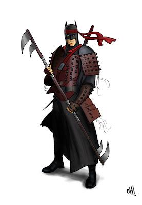 Batman's a Samuria