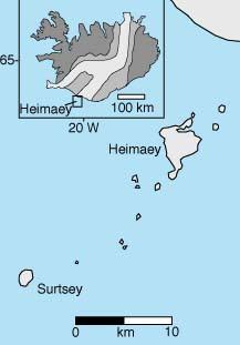isla - El nacimiento de una isla: Surtsey. Ice