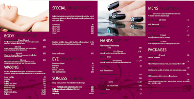 Bimbo design printers graphic designers web chesterfield for A perfect touch salon