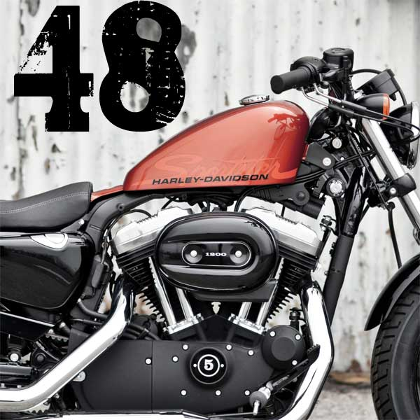 SYDNEY The new Harley-Davidson Forty-Eight motorcycle is a factory custom in