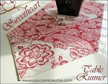 Sweetheart Table Runner - FREE Download