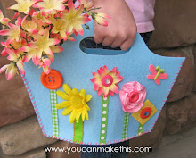 Spring Fling Felt Purse - FREE Download