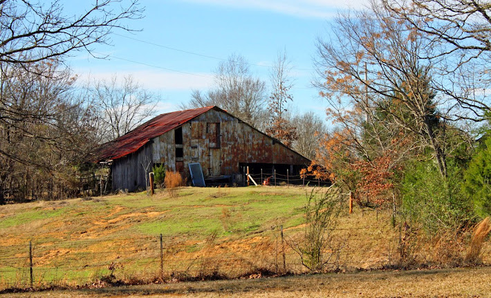 Old Barn on Highway 22, Hinds County, MS