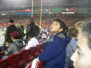 children acc football game