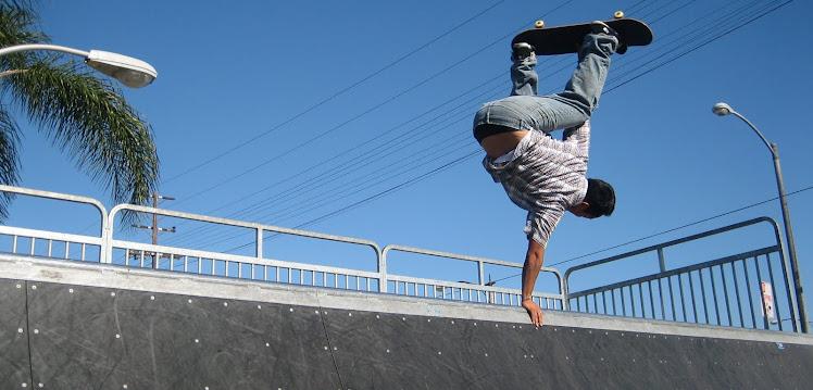 Cherry Skatepark Long Beach