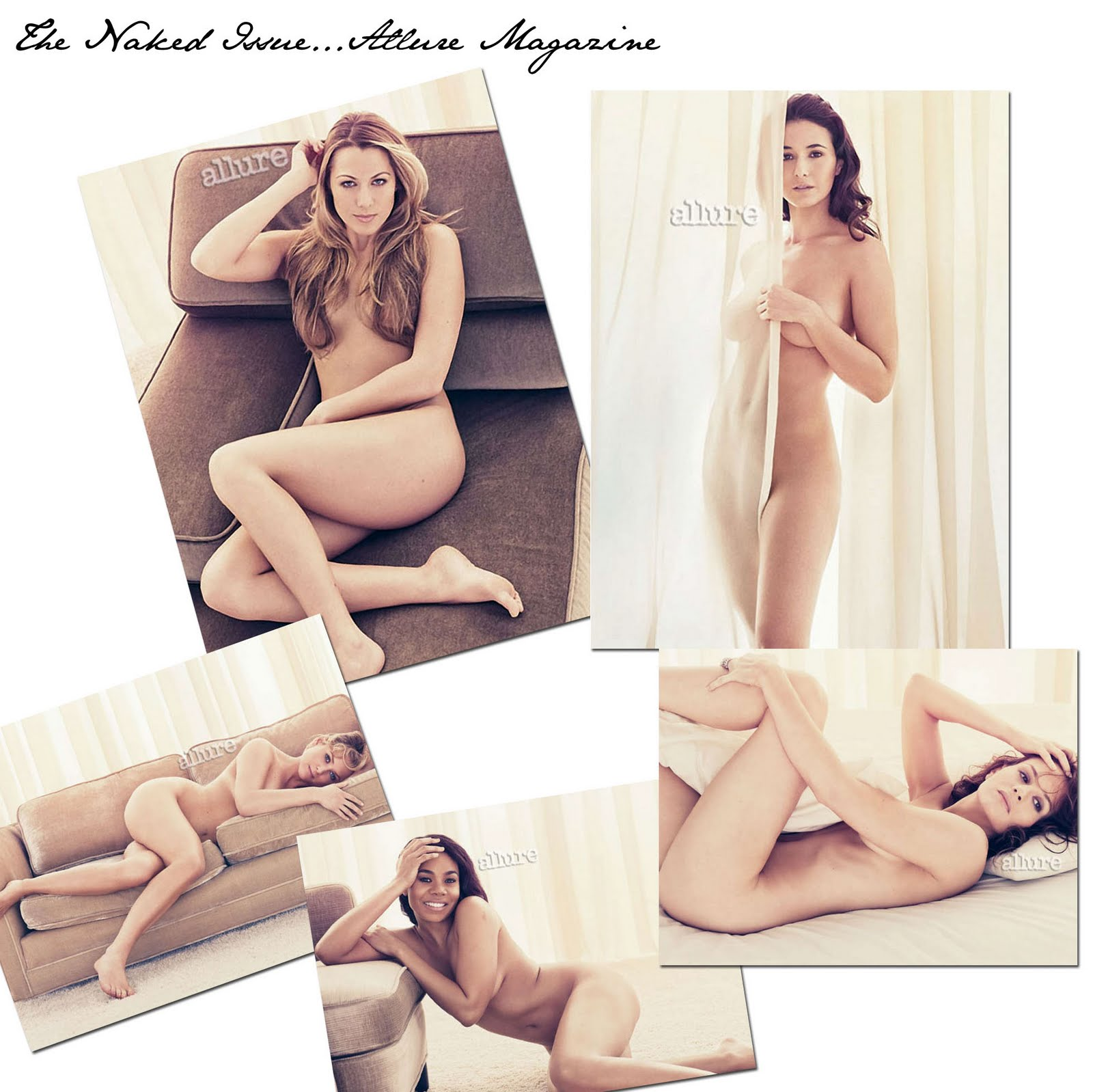 Actress Regina Hall Goes Nude For Allure Magazine