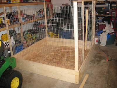 how to build a whelping box