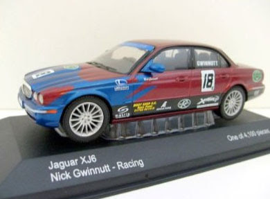Diecast Toy Car  VANGUARDS 1 43 VA09102 JAGUAR XJ6 NICK GWINNUTT