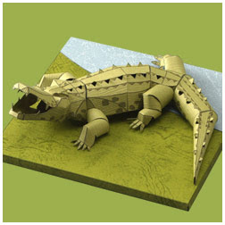 crocodilepapercraft