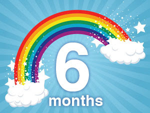 Its going to be my story happy 6 month anniversary