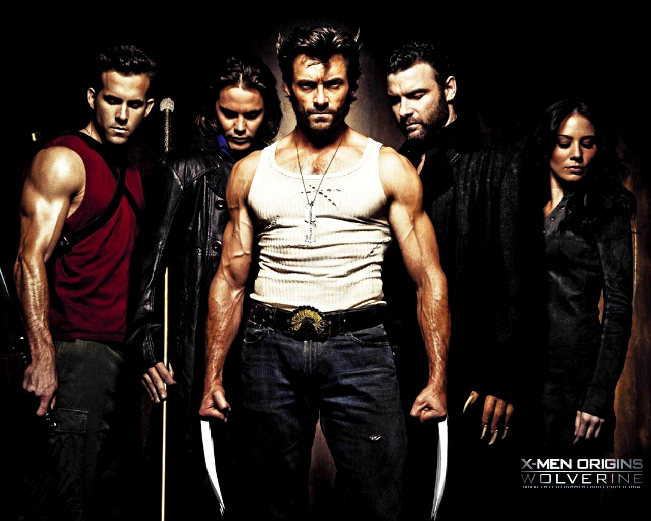 X-Men Origins: Wolverine 2009 best movie 2011 X Men Origins Wolverine 2009 Hugh Jackman Movie 1280x1024 Movie-index.com