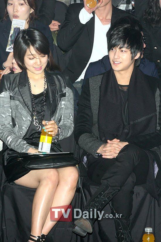 park shin hye boyfriend. bersama Park Shin Hye.