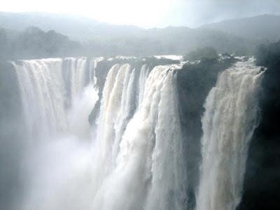Jog waterfalls, River Sharavathi, Karnataka