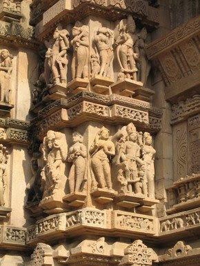 Sculpture at Lakshman Temple, Khajuraho 4