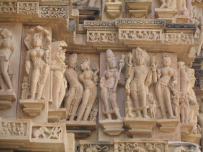 Sculpture at Lakshman Temple, Khajuraho 5