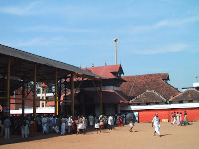 Gurovayoor temple entrance
