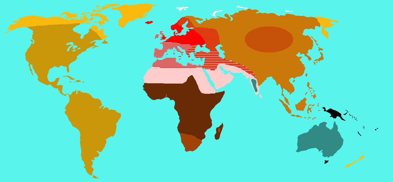 Loony Doctor: Geographical distribution of human races