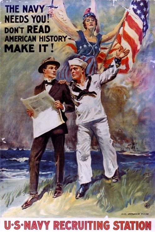 world war 1 propaganda posters. PD Image: World War I U.S.