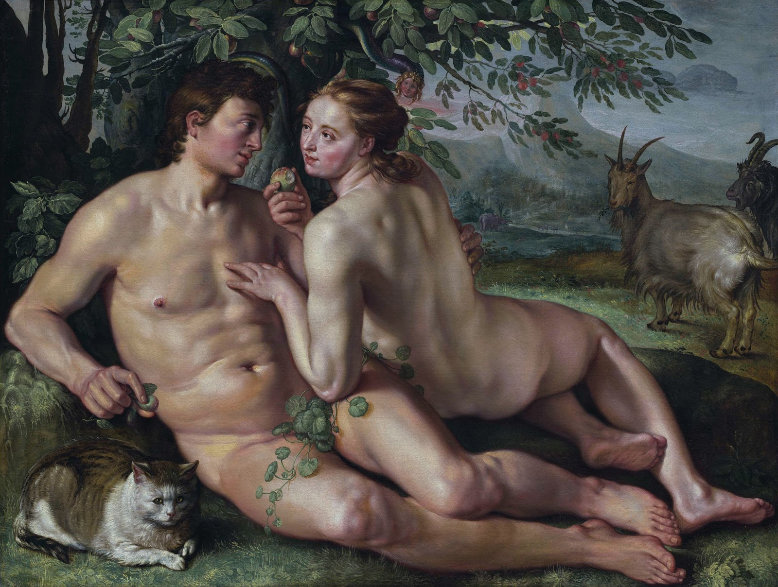 Hendrick Goltzius: The Fall of Man