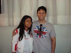 Eu e o GM Rafael Leitão