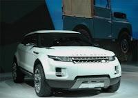 Land Rover LRX Diesel Electric Hybrid