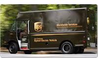 UPS Hybrid Truck