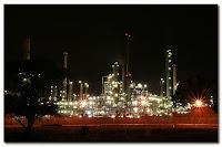 Chevron refinery in Cape Town