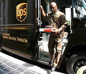 UPS Hybrid Electric Truck