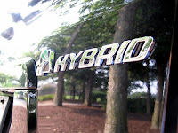 Ford Escape Hybrid Badge