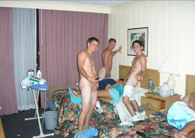 Male spring breakers naked