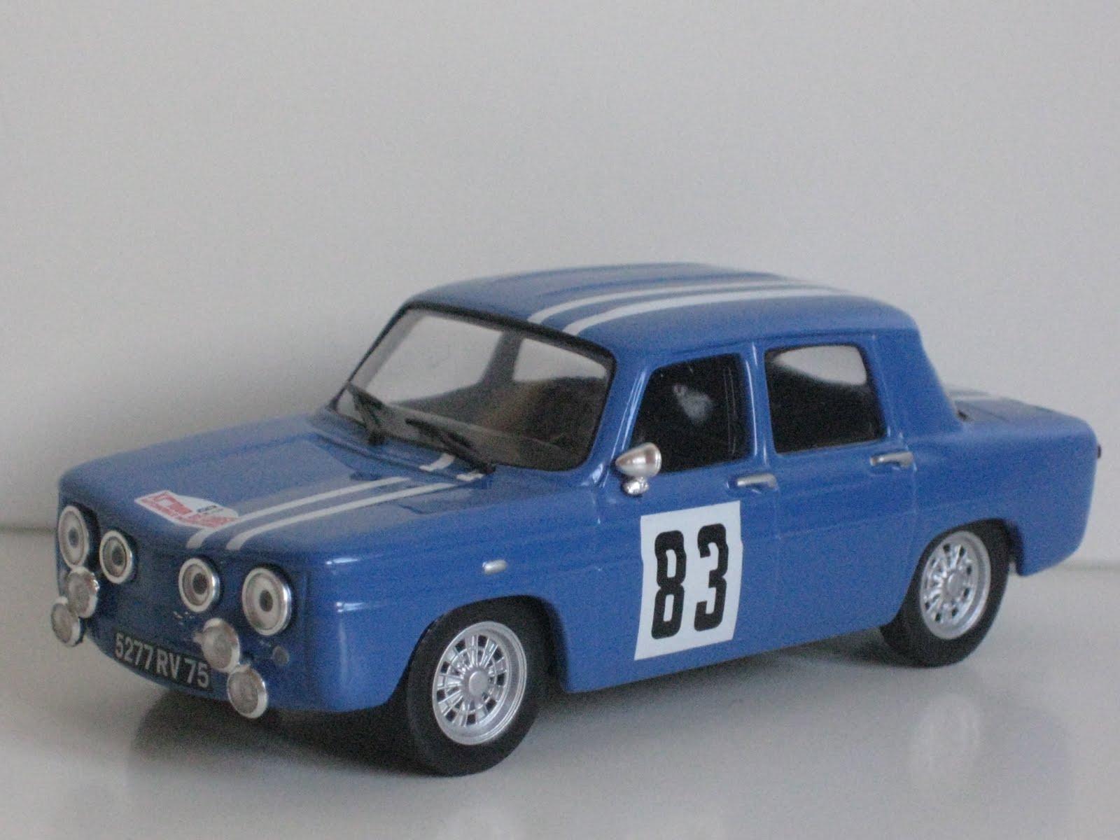 cochesaescala renault 8 gordini 83 tour de corse 1966. Black Bedroom Furniture Sets. Home Design Ideas