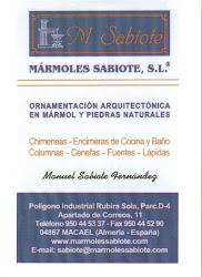 Marmoles Sabiote