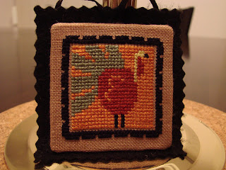 Turkey Ornament from Fall Crazy by Lizzie*Kate