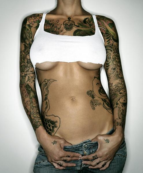 girl tattoos make you confidence