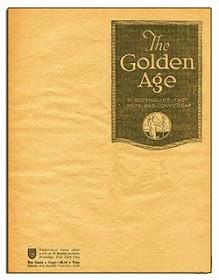 Golden Age / Consolation