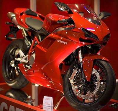 Ducati 1098 poster
