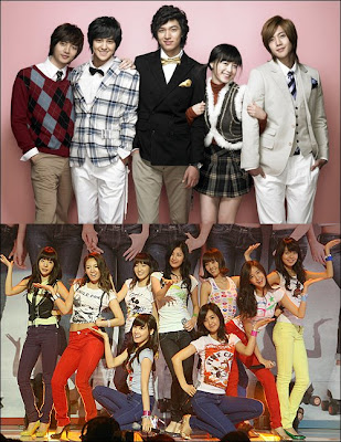 "SNSD's mini album ""Gee"" and ""Boys over Flowers"" drama OST broke ..."