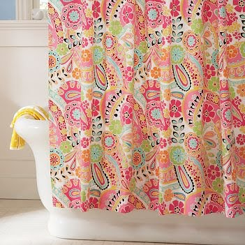 Shower Curtains Pbteen - Kitchen Layout and Decorating Ideas