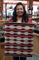 Navajo Rug Weaver Ruby Coggeshell