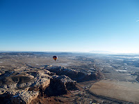 Hot Air Balloon over Bluff Utah